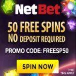 50 Free Spins bij NetBet