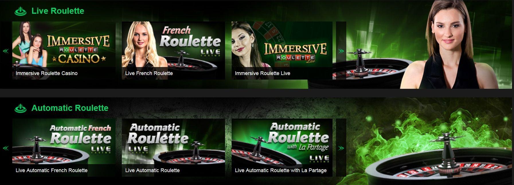 NetBet live roulette