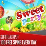 Sweet Party Jackpot staat op springen!