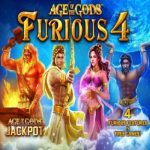 Age of the Gods: Furious 4 gokkast