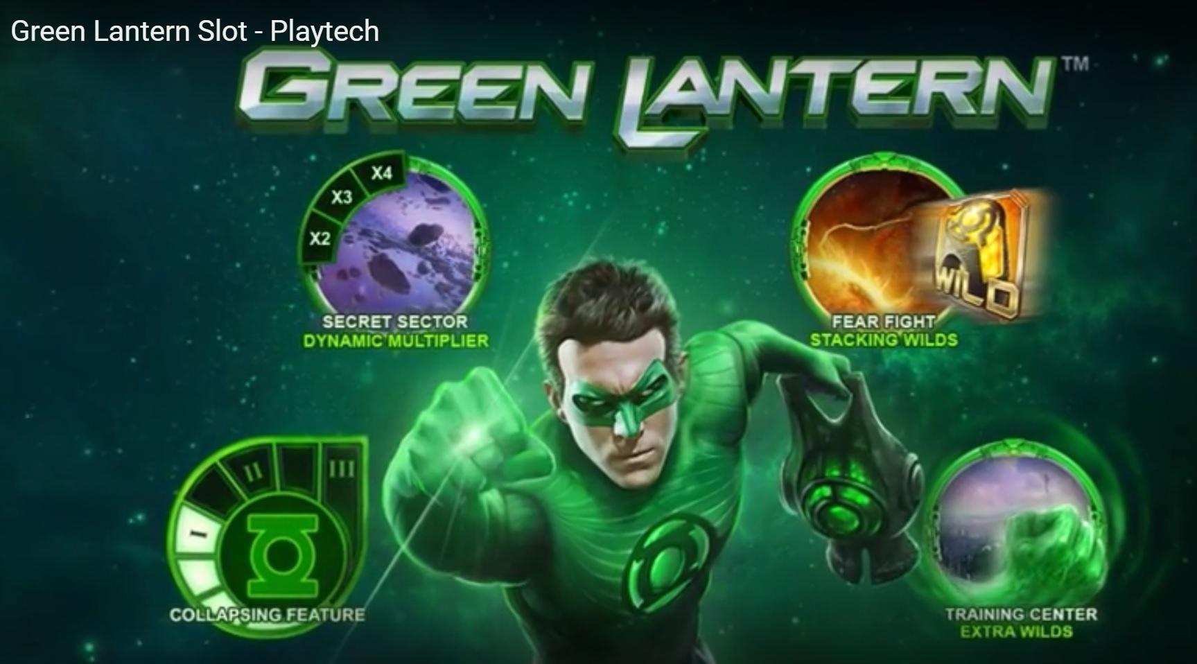 Green Lantern gokkast Playtech