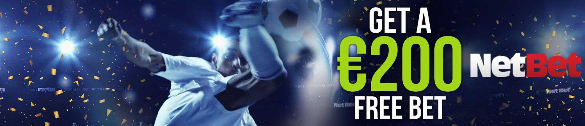NetBet Sport €200 gratis inzet