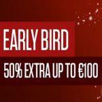Early Bird Bonus NetBet Vegas