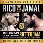 Wedden op Glory 49 Redemption