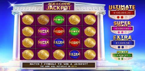 Jackpot Age of the Gods