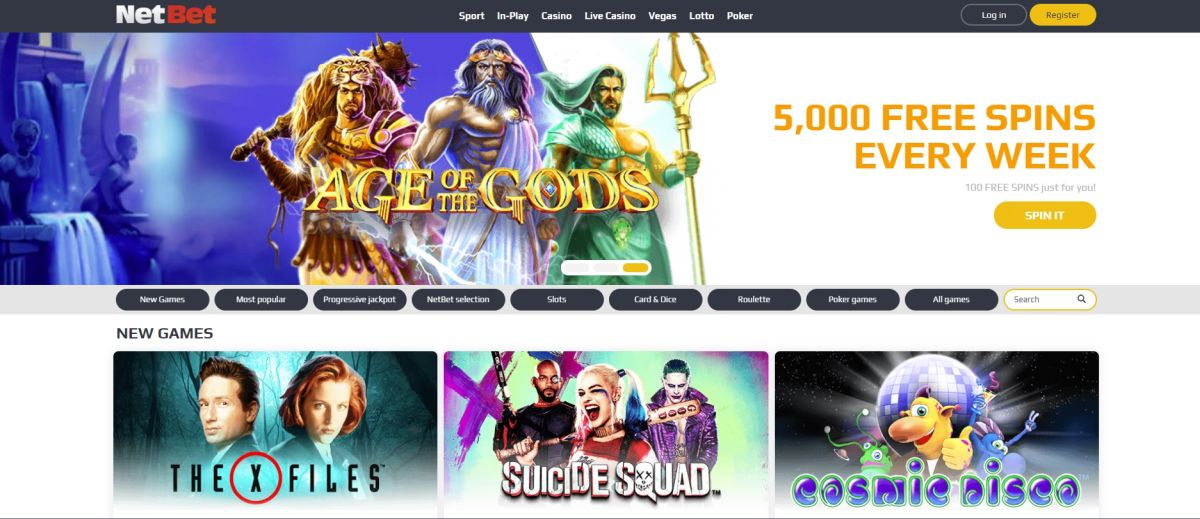 NetBet Vegas vernieuwd